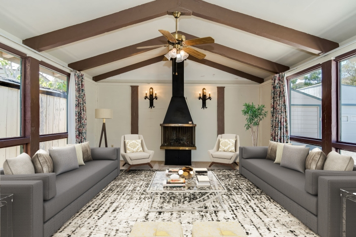 Family Rm. staged